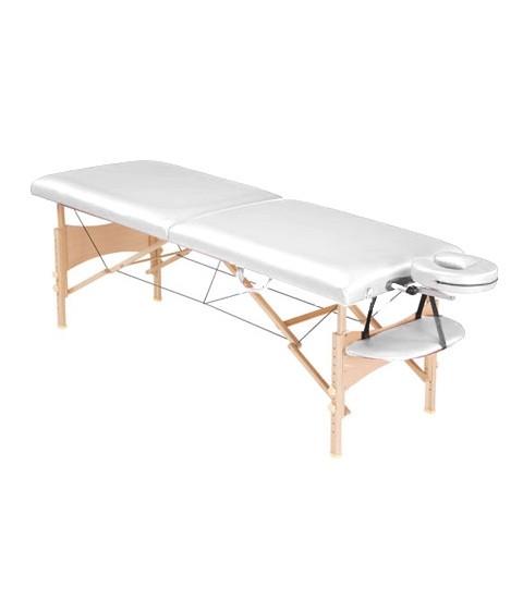 Стол массажный Life Gear белый - фото 1