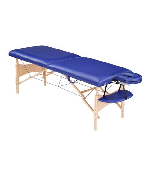 Стол массажный Life Gear синий