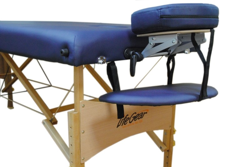Стол массажный Life Gear синий - фото 2