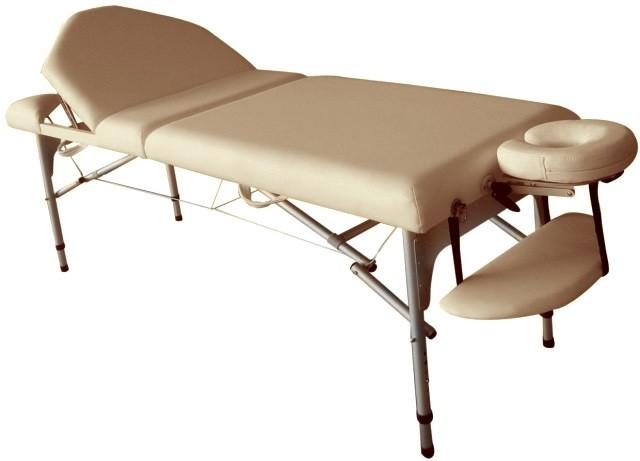 Стол массажный Life Gear Blanche бежевый - фото 1