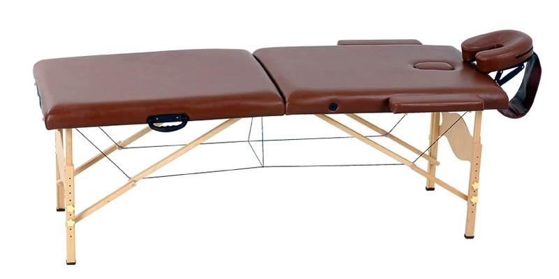 Стол массажный Life Gear WT 003В коричневый - фото 1