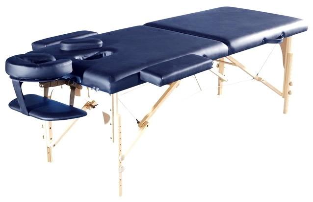 Стол массажный СК-11 синий - фото 1