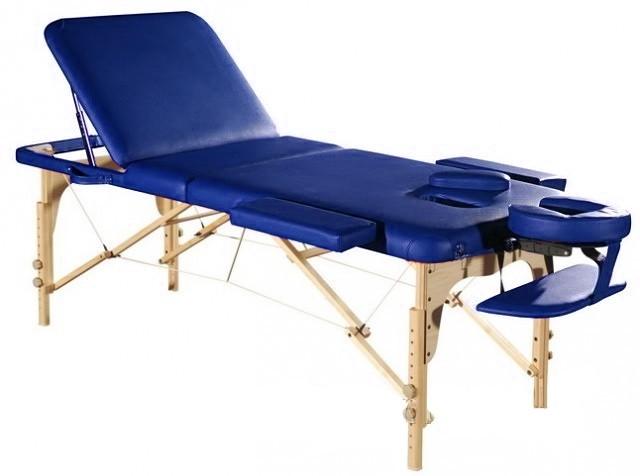 Стол массажный СК-14 синий - фото 1