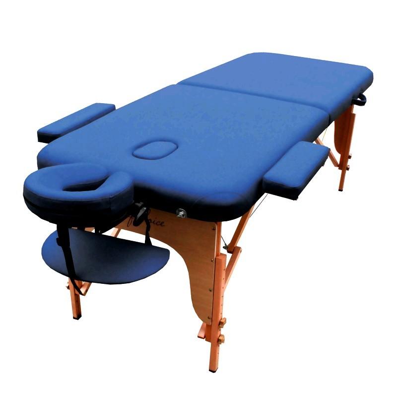 Стол массажный портативный MIA Art of Choice синий - фото 1