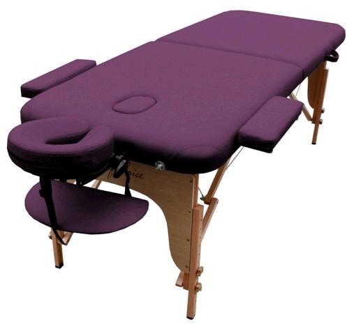 Стол массажный портативный MIA Art of Choice фиолетовый