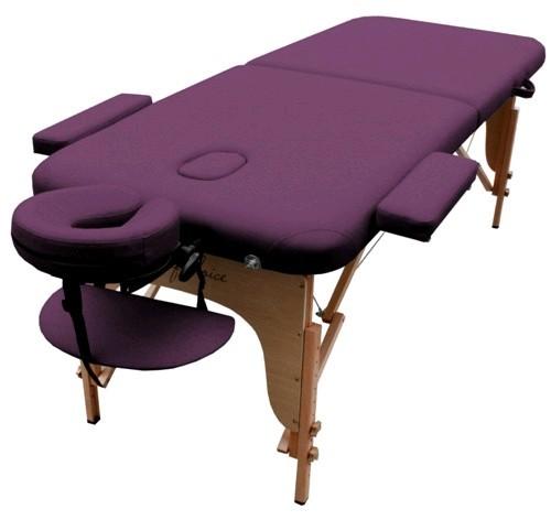 Стол массажный портативный MIA Art of Choice фиолетовый - фото 1