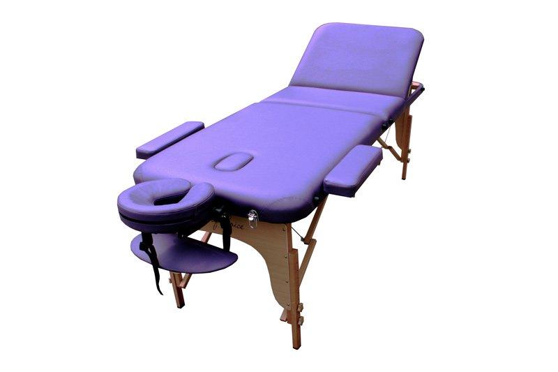 Фото 1 к товару Стол массажный портативный DEN Art of Choice синий