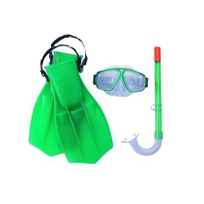 Набор для плавания Bestway 25009 зеленый - фото 1