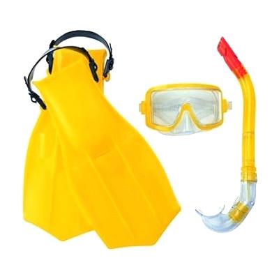 Фото 1 к товару Набор для плавания Bestway 25010 желтый