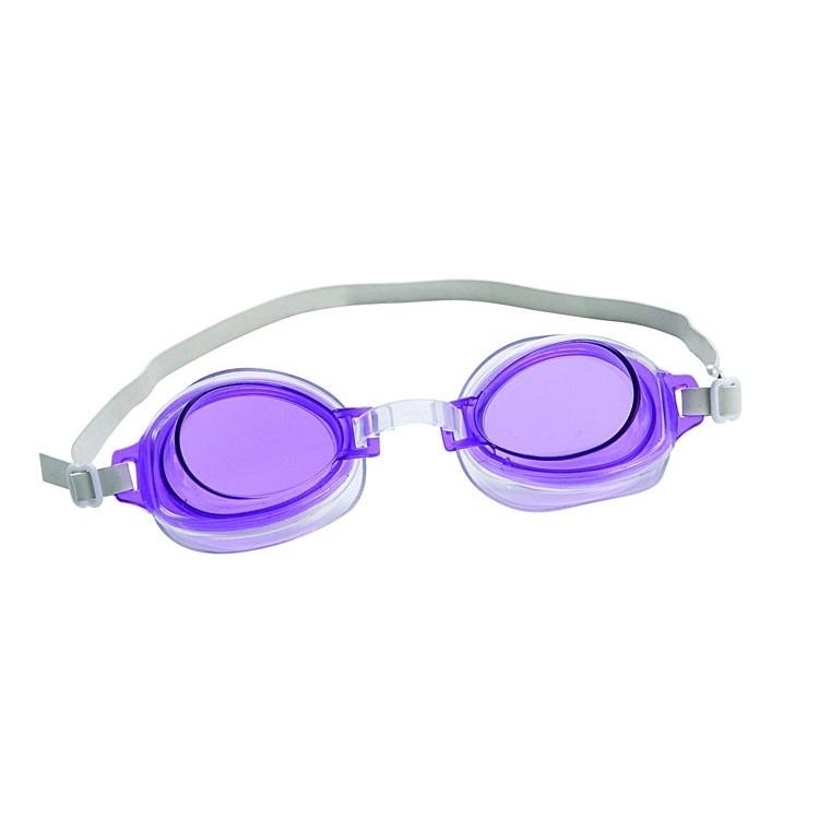 Очки для плавания Bestway 21002 сиреневые - фото 1