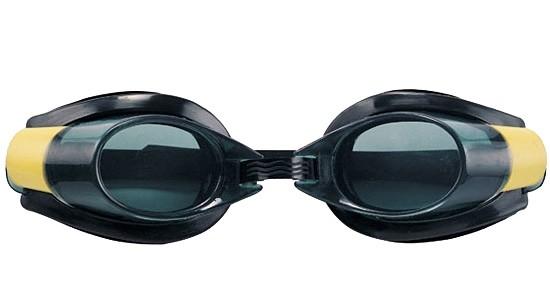 Очки для плавания Bestway 21005 черно-желтые - фото 1