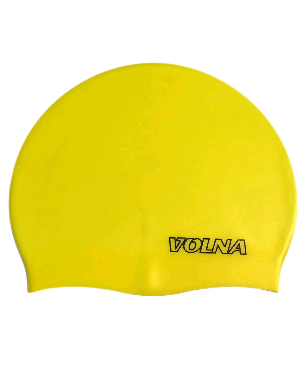 Шапочка для плавания Volna Classic желтая