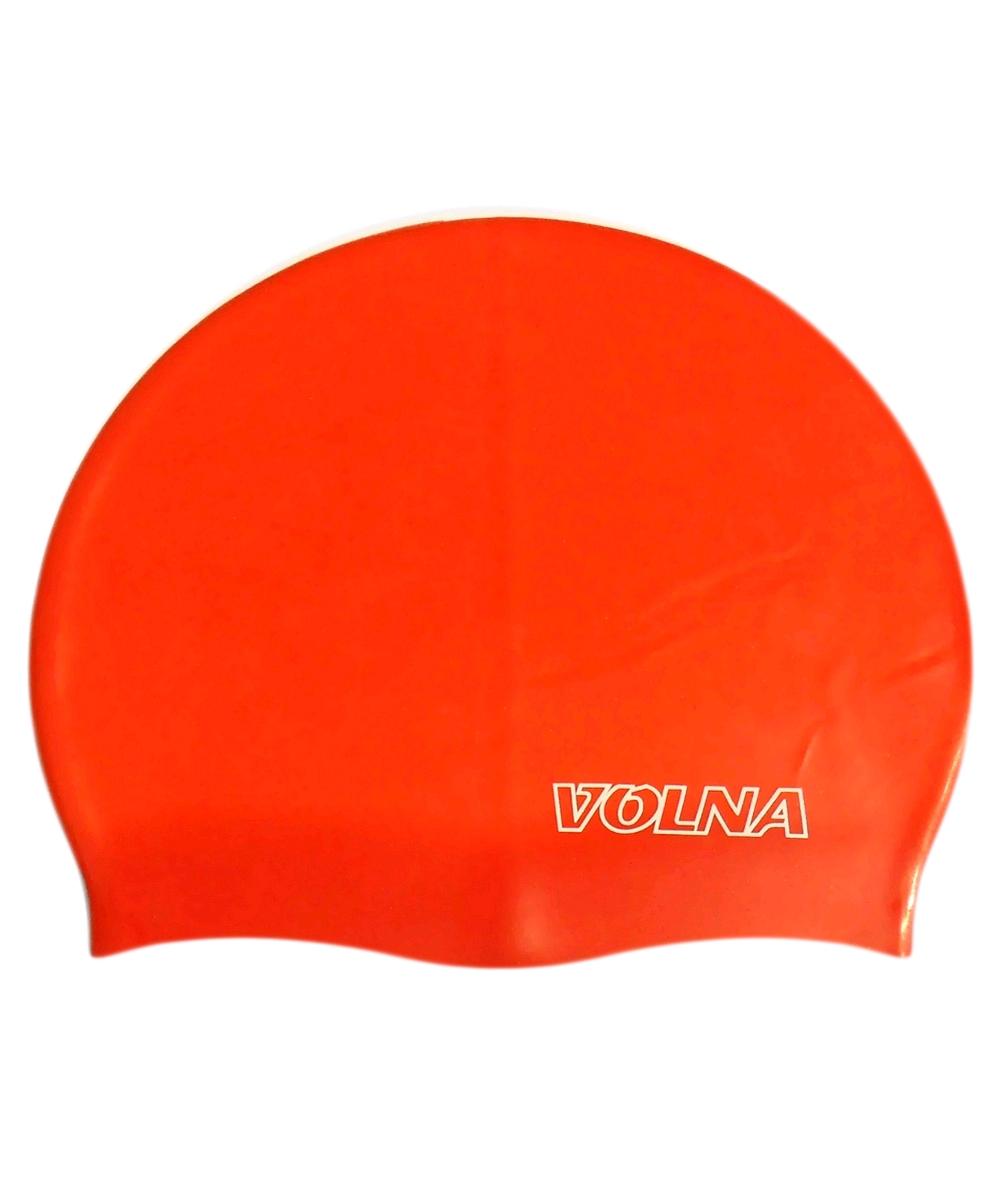 Шапочка для плавания Volna Classic красная