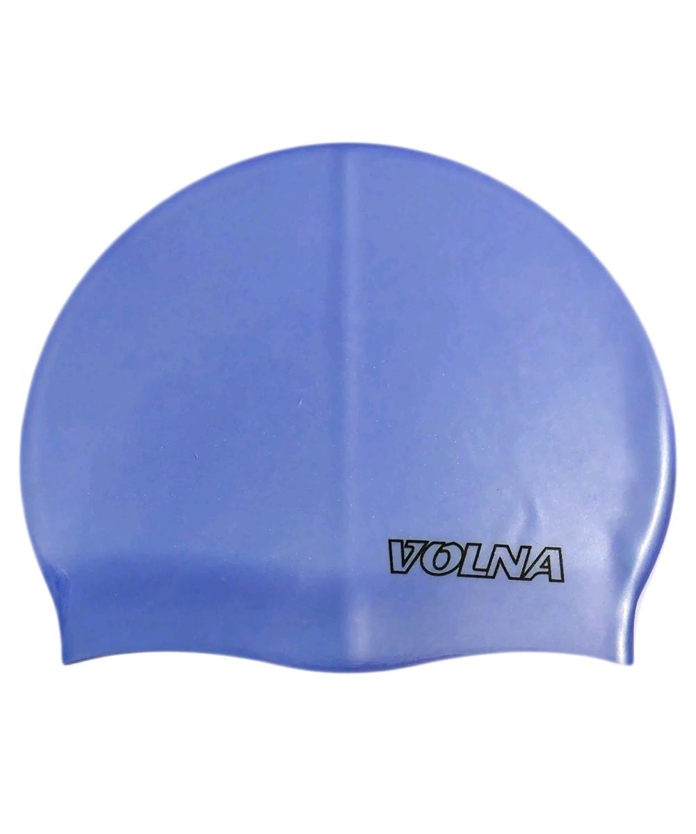 Шапочка для плавания Volna Classic синяя - фото 1