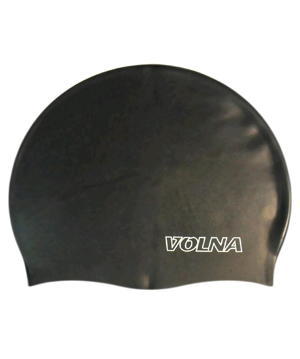 Шапочка для плавания Volna Classic черная - фото 1