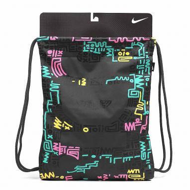 Рюкзак женский Nike Graphic Play Gymsack черный