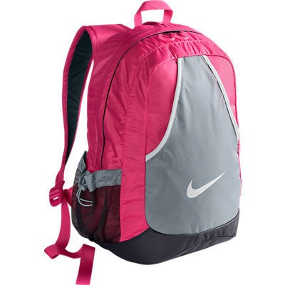 Рюкзак городской женский Nike Varsity Girl Backpack розовый/серый