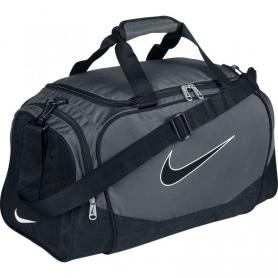 Сумка спортивная Nike Brasilia 5 Medium Duffel/Grip серая