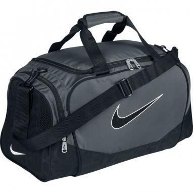 Сумка спортивная Nike Brasilia 5 Medium Duffel/Grip серая