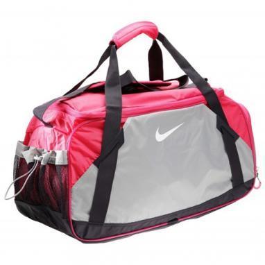Сумка женская Nike Varsity Girl Large Duffel розово-серая