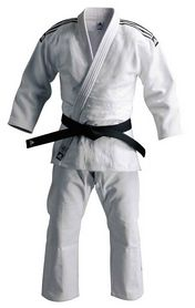 Фото 1 к товару Кимоно для дзюдо Adidas Judo Uniform WH Champion белое