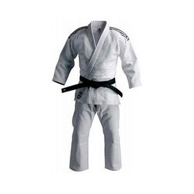 Кимоно для дзюдо Adidas Judo Uniform Elite белое - 195 см