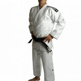 Кимоно для дзюдо Adidas Judo Uniform WH Champion Label белое - 195 см