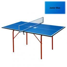 Фото 2 к товару Стол теннисный детский Junior синий + подарок