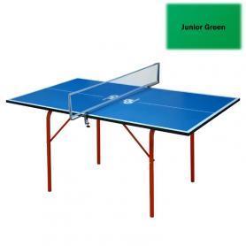 Фото 2 к товару Стол теннисный детский Junior зеленый + подарок