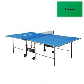 Фото 2 к товару Стол теннисный складной для помещений Gp-2 зеленый + подарок