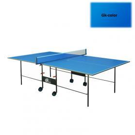 Фото 2 к товару Стол теннисный складной для помещений Gk-2 синий + подарок