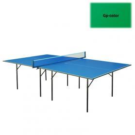 Фото 2 к товару Стол теннисный для помещений Gp-1 зеленый + подарок