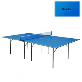 Фото 2 к товару Стол теннисный для помещений Gk-1 синий + подарок