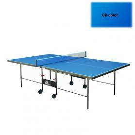 Фото 2 к товару Стол теннисный складной для помещений Gk-3 синий + подарок