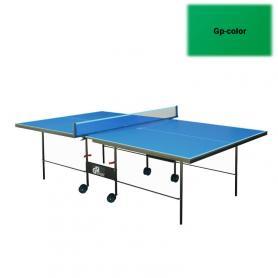 Фото 2 к товару Стол теннисный складной для помещений Gp-3 зеленый + подарок