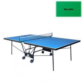 Фото 2 к товару Стол теннисный складной для помещений Gp-5 зеленый + подарок