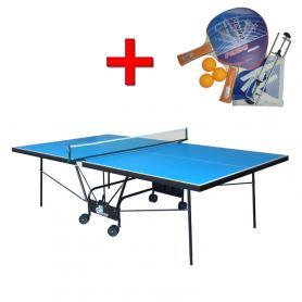 Стол теннисный складной всепогодный Gs-2 + подарок