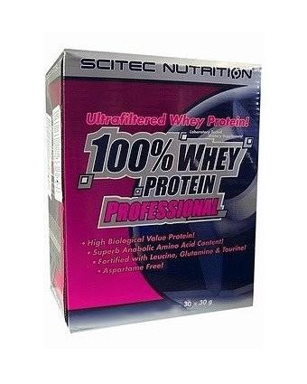Протеин Scitec Nutrition 100% Whey Protein Prof (30х30 г)