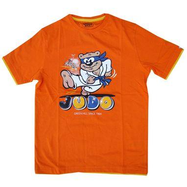 Футболка детская Green Hill Judo GHB-001 оранжевая