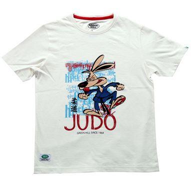 Футболка детская Green Hill Judo GHB-002 белая