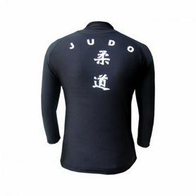 Фото 2 к товару Футболка Green Hill Rash Guard Judo длинный рукав черная