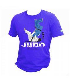 Футболка Green Hill Judo TSLR-9056 синяя