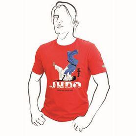 Футболка Green Hill Judo TSLR-9056 красная