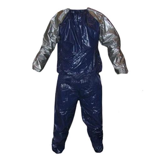 Костюм сауна для похудения Exercise Suit 0,18 мм синий