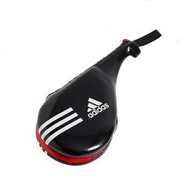 Ракетка (хлопушка) для тхэквондо двойная Adidas черная