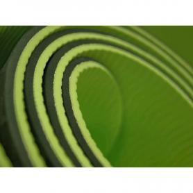 Фото 2 к товару Йога-мат ТРЕ+TC 6 мм зеленый
