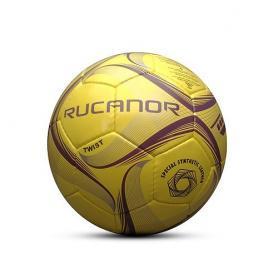 Фото 1 к товару Мяч футбольный Rucanor Twist профессиональный желтый
