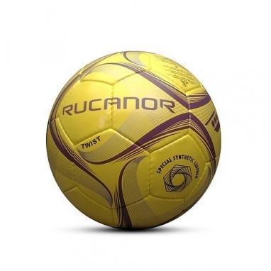 Мяч футбольный Rucanor Twist профессиональный желтый