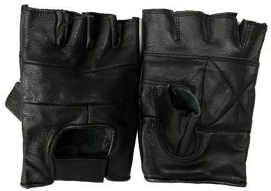 Перчатки для фитнеса молодежные (кожа)