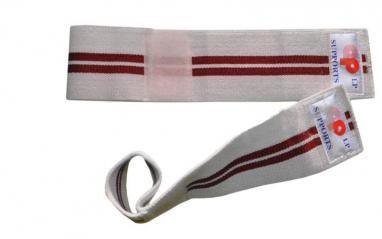 Напульсник эластичный для фиксации запястья (2шт) Matsa белый с красным